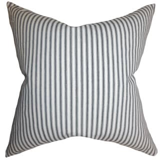 Ferebee Stripes Euro Sham Gray