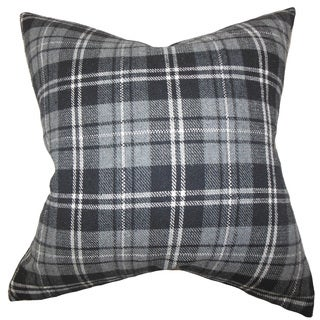 Baxley Plaid Euro Sham Grey