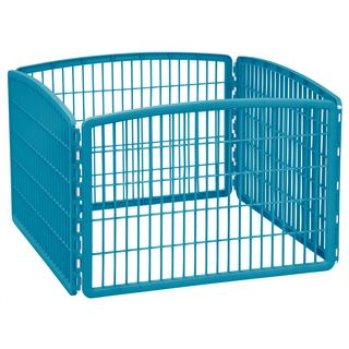 IRIS 24-inch Exercise 4-panel Pet Playpen without Door