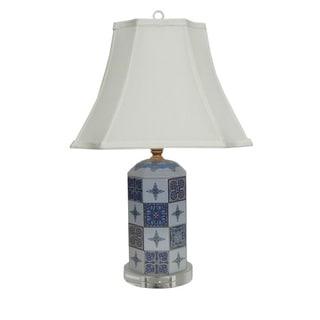 Batik Mirage Blue Table Lamp