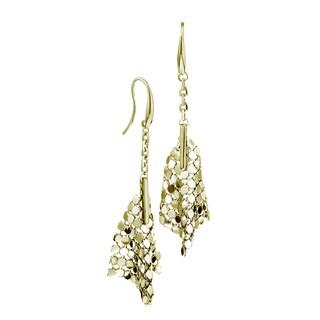 Isla Simone - 18 Karat Gold Electro Plated Specchio Small Cone Earring