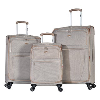 Olympia Chandler 3-piece Expandable Spinner Luggage Set