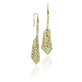 Isla Simone - 18 Karat Gold Electro Plated Perline Small Cone Earring