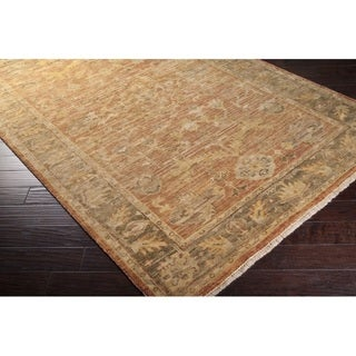 Hand-Knotted Stannard New Zealand Wool Rug (12' x 15')