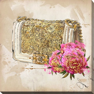 """BY Jodi """"Coco In Gold"""" Giclee Print Canvas Wall Art"""