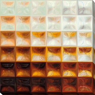 "Mark Lawrence ""Tile Art #8 2015"" Giclee Print Canvas Wall Art"