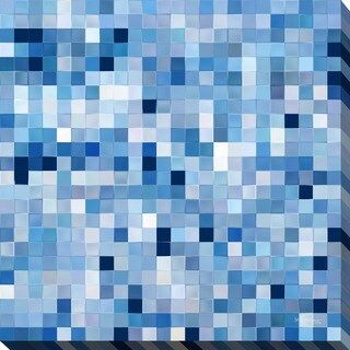 "Mark Lawrence ""Tile Art #2 2016"" Giclee Print Canvas Wall Art"