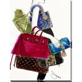 "BY Jodi ""My Bags"" Giclee Print Canvas Wall Art"