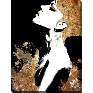 "BY Jodi ""Gold Godess"" Giclee Print Canvas Wall Art"