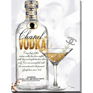"BY Jodi ""Couture Cocktail"" Giclee Print Canvas Wall Art"