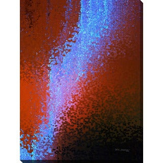 """Mark Lawrence """"Just Passing Through. Colossians 3:2"""" Giclee Print Canvas Wall Art"""