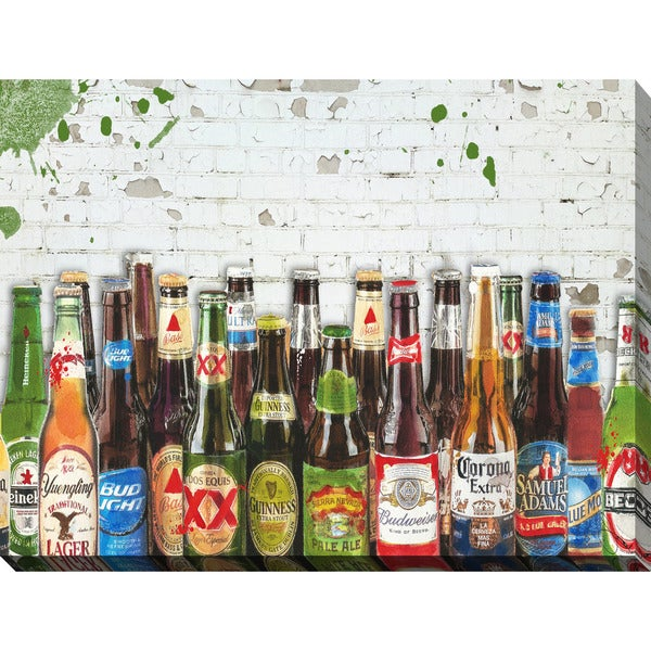 BY Jodi 99 Bottles Of Beer Giclee Print Canvas