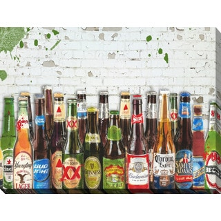 """BY Jodi """"99 Bottles Of Beer"""" Giclee Print Canvas Wall Art"""