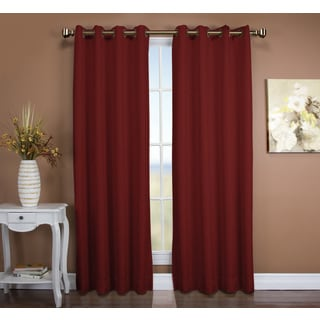Tacoma Double Blackout Grommet Curtain Panel