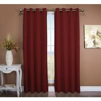 Tacoma Double Blackout Grommet Curtain Panel