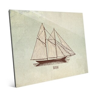 Multicolored Acrylic Bateau Vintage-style Wall Art (More options available)
