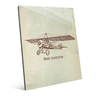 Morane Saulnier Avion Acrylic Wall Art