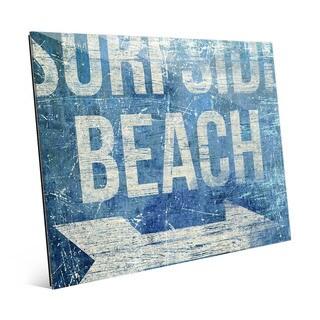 'Surfside Beach - Blue' Acrylic Wall Art
