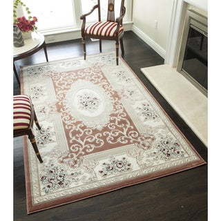 Chateau Collection Pierre Power-loomed Polypropylene Rug (60 Inch x 96 Inch)