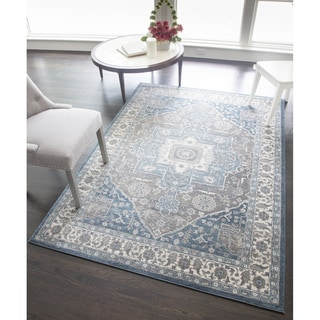 Hailey Collection Maxwell Polypropylene Power-Loomed Rug (63-inch x 90-inch)