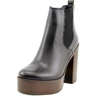 Steve Madden Women's 'Geanna' Black Leather Boots