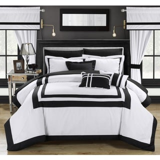 Chic Home Christofle White Comforter 20-Piece Set