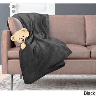 Ultra Lux Microplush Solid Color All Season Warm Cozy Snuggle Soft Throw Blanket by Snuggle