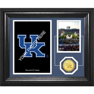 "University of Kentucky Football ""Fan Memories"" Bronze Coin Desktop Photo Mint"