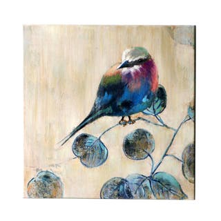 Jeco 'Small Bird' Canvas Wall Art - 20 x 20
