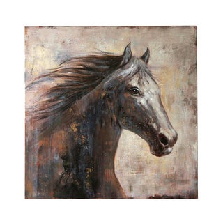 Jeco 'Brown Horse' 40-inch Canvas
