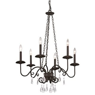 Fifth and Main La Rochelle 6 Light Chandelier