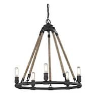 Fifth and Main Wharfside 5 Light Pendant