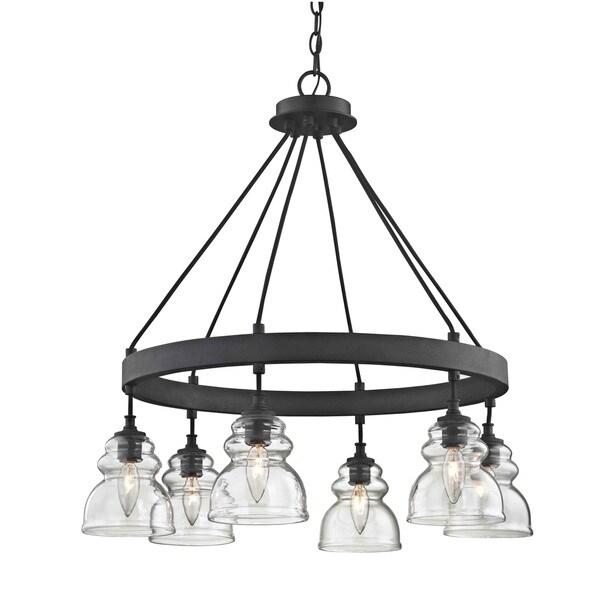 Modern Farmhouse Spring Home Decor Ideas: Shop Fifth And Main Muncie 6 Light Pendant