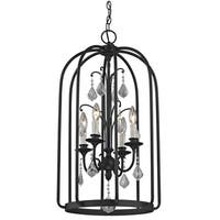 Fifth and Main Aspen 4 Light Cage Pendant