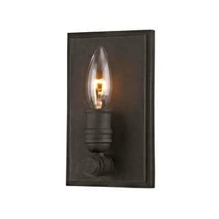 Rustic wall lights for less overstock fifth and main wharfside 1 light sconce aloadofball Image collections