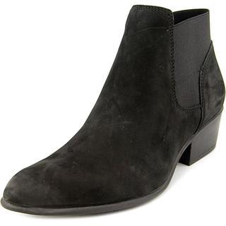 Steve Madden Women's Rozamare Black Nubuck Boots