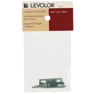 Levolor Single Rod Curtain Rod Brackets