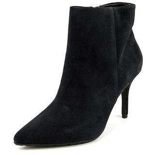 Steven Steve Madden Women's 'Splendr' Blue Regular Suede Ankle Boots