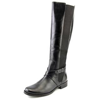 Steven Steve Madden Women's Sydnee Black Leather Boots