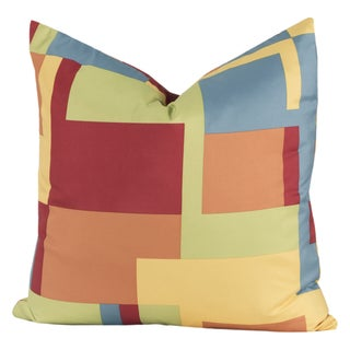 Crayola Paint Box Multicolor Polyester Decorative Throw Pillow
