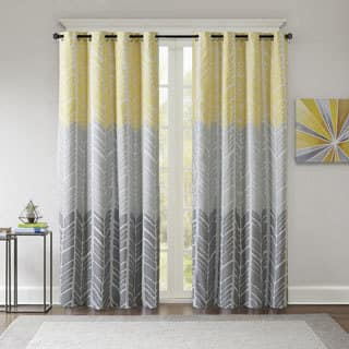 from curtain panels in crushed pocket buy voile window curtains inch rod beyond sheer bed bath grey panel