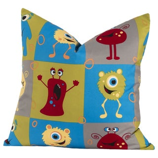 Crayola Monster Friends Multicolored Decorative Throw Pillow