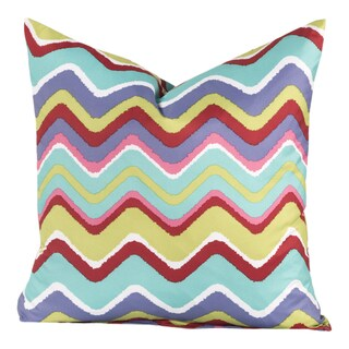 Crayola Multicolore Polyester Mixed Palette Decorative Throw Pillow