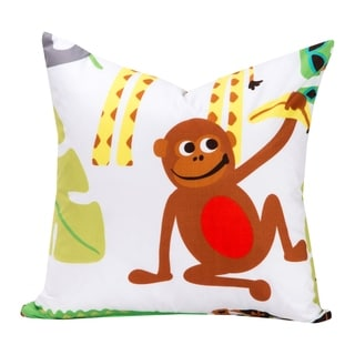 Crayola Jungle Love Decorative Toss Pillow