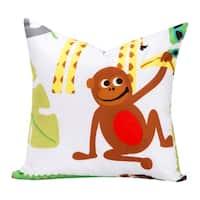 Crayola Jungle Love Decorative Toss Pillow