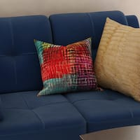 Crayola Etch Multicolored Polyester Decorative Throw Pillow