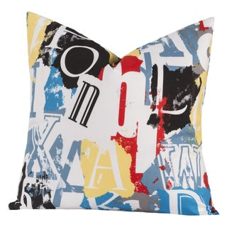 Crayola Dream On Decorative Toss Pillow