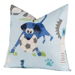 Link to Crayola Chase Your Dreams Polyester Square Decorative Toss Pillow Similar Items in Window Treatments