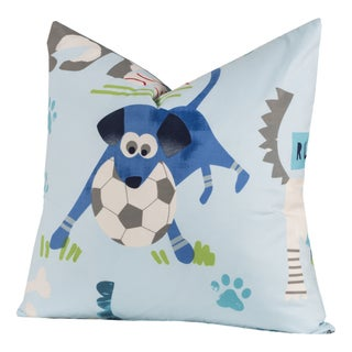 Crayola Chase Your Dreams Polyester Square Decorative Toss Pillow