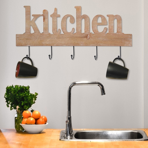 Shop Stratton Home Decor Kitchen Typography Wall Decor - Free ...
